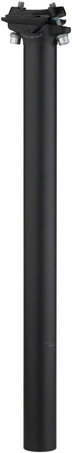 Salsa Guide Seatpost, 27.2 x 350mm, 0mm Offset, Black