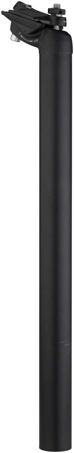 Salsa Guide Seatpost, 27.2 x 400mm, 18mm Offset, Black