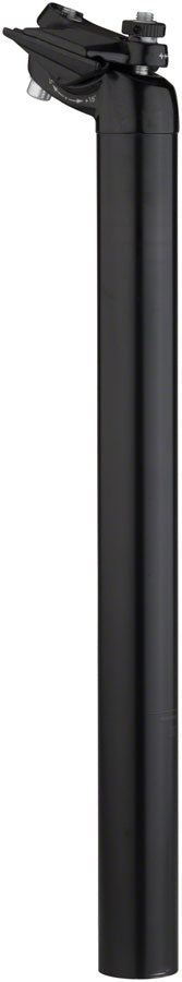 Salsa Guide Deluxe Seatpost, 27.2 x 400mm, 18mm Offset, Black