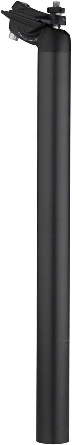 Salsa Guide Carbon Seatpost, 31.6 x 400mm, 18mm Offset, Black