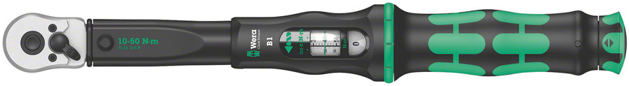 Wera Click-Torque B 1 Torque Wrench - with Reversible Ratchet, 3/8