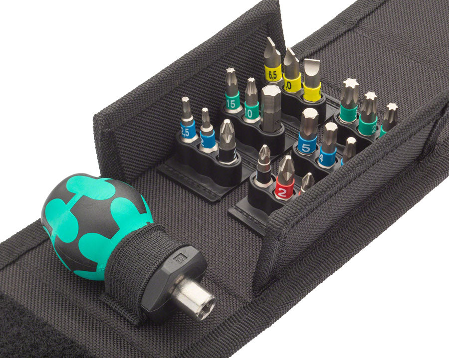 Wera Kraftform Kompakt Stubby 1 Driver and Bit Set MPN: 05057471001 Screwdriver Kraftform Kompakt Stubby