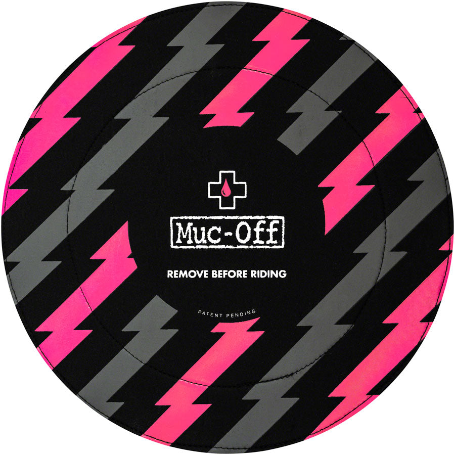 Muc-Off Disc Brake Covers, Black/Pink MPN: 189 UPC: 811079025197 Bike Protector Disc Brake Cover