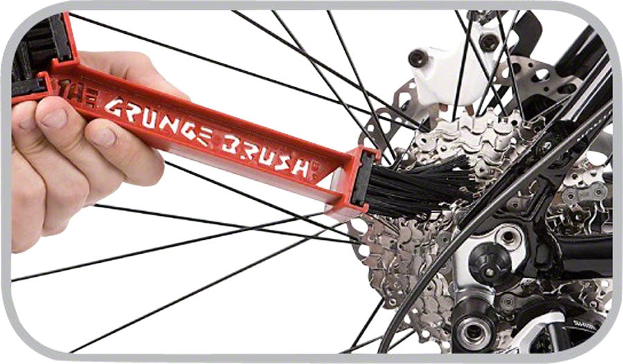 Finish Line Grunge Brush Chain and Gear Cleaning Tool - Cleaning Tool - Grunge Brush