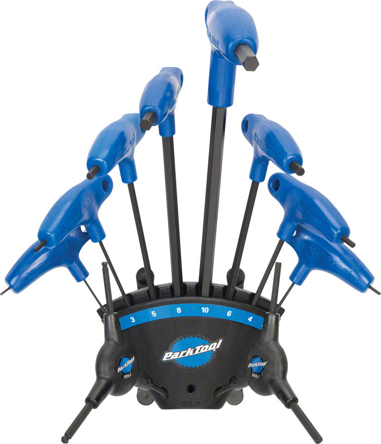 Park Tool PH-1.2 P-Handle Hex Set with Holder MPN: PH-1.2 UPC: 763477004871 Hex Wrench Hex Wrenches