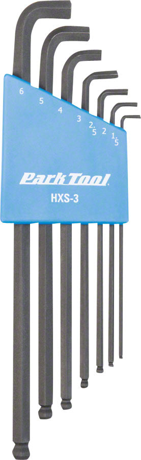 Park Tool HXS-3 Stubby Hex Wrench Set 1.5-6mm