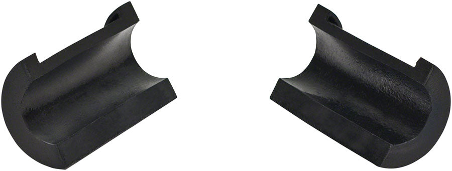 Park Tool 466 Rubber Clamp Cover: Pair: Fits Pre-1990 Repair Stands