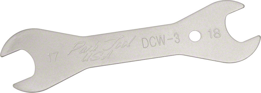 Park Tool DCW-3 Double-Ended Cone Wrench: 17 and 18mm MPN: DCW-3 UPC: 763477002778 Cone Wrench Double-Ended Cone Wrench