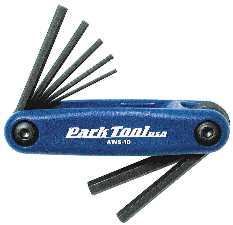 Park Tool AWS-10 Metric Folding Hex Wrench Set MPN: AWS-10 UPC: 763477000293 Hex Wrench Hex Wrenches