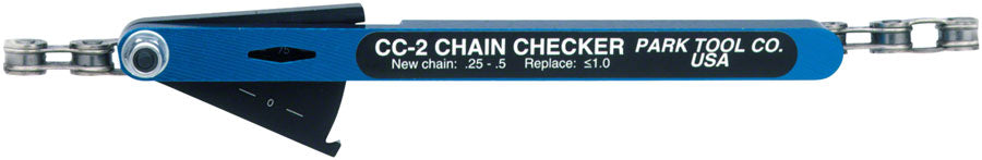 Park Tool CC-2 Chain Wear Indicator MPN: CC-2 UPC: 763477001313 Wear Indicator CC-2
