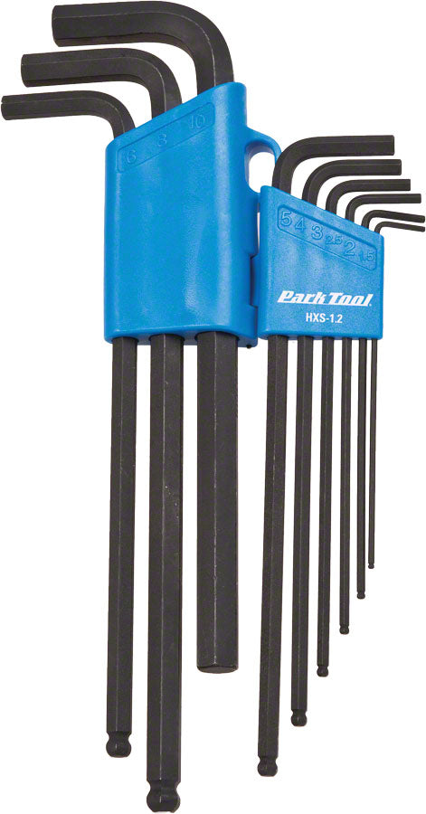 Park Tool HXS-1.2 Professional L-Shaped Hex Set - Hex Wrench - Hex Wrenches