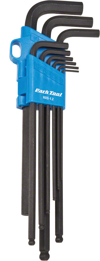 Park Tool HXS-1.2 Professional L-Shaped Hex Set MPN: HXS-1.2 UPC: 763477004666 Hex Wrench Hex Wrenches