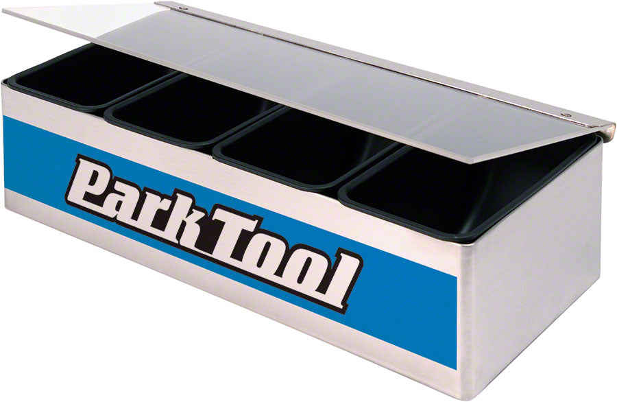 Park Tool JH-1 Bench Top Box Small Parts Holder MPN: JH-1 UPC: 763477004468 Miscellaneous Shop Supply JH-1 Bench Top Box Small Parts Holder