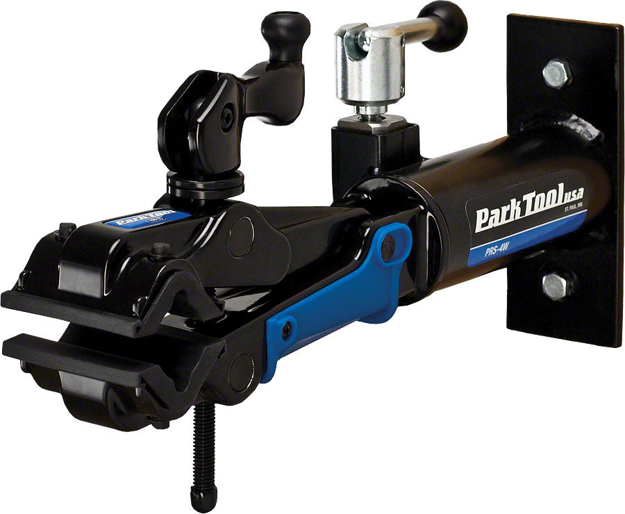 Park Tool PRS-4W-2 Professional Wall Mount Stand and 100-3D Clamp: Single MPN: PRS-4W-2 UPC: 763477005830 Repair Stands PRS-4 Wall Mounted