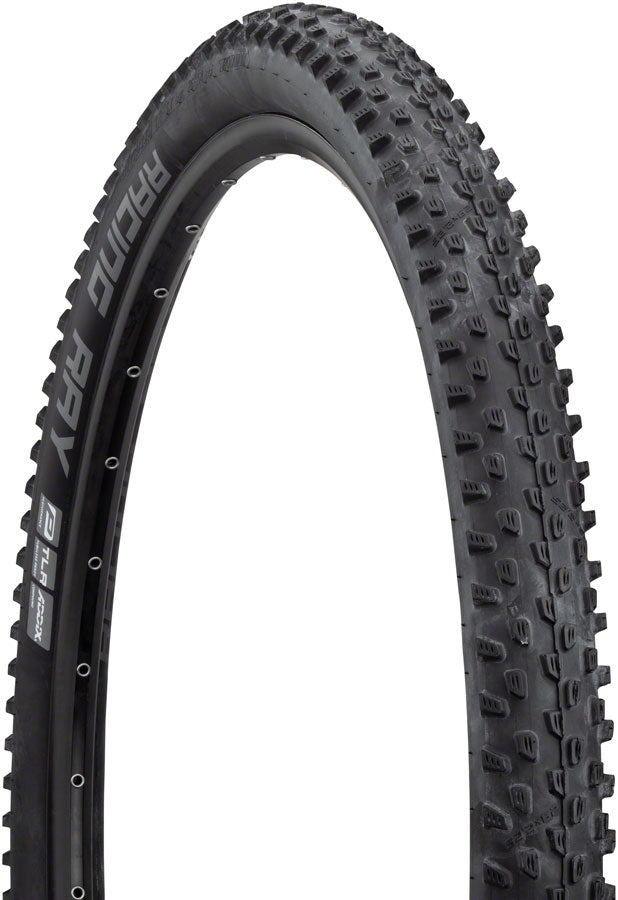 Schwalbe Racing Ray Tire - 29 x 2.25, Tubeless, Folding, Black, Performance Line, TwinSkin, Addix