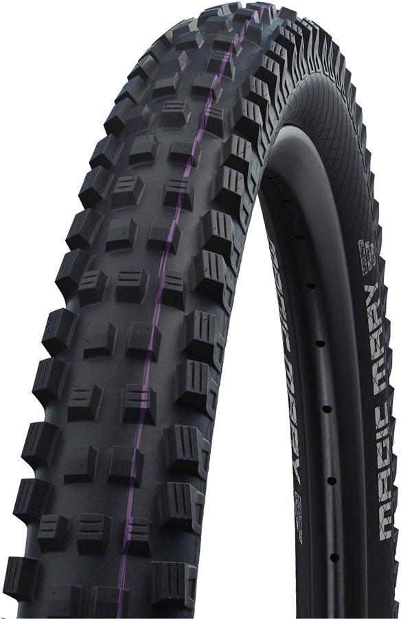 Schwalbe Magic Mary Tire - 29 x 2.4, Tubeless, Folding, Black, Evolution, Super Downhill, Addix Ultra Soft