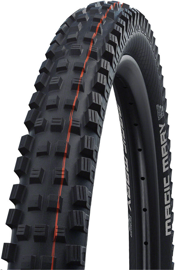 Schwalbe Magic Mary Tire - 29 x 2.4, Tubeless, Folding, Black, Evolution, Super Gravity, Addix Soft