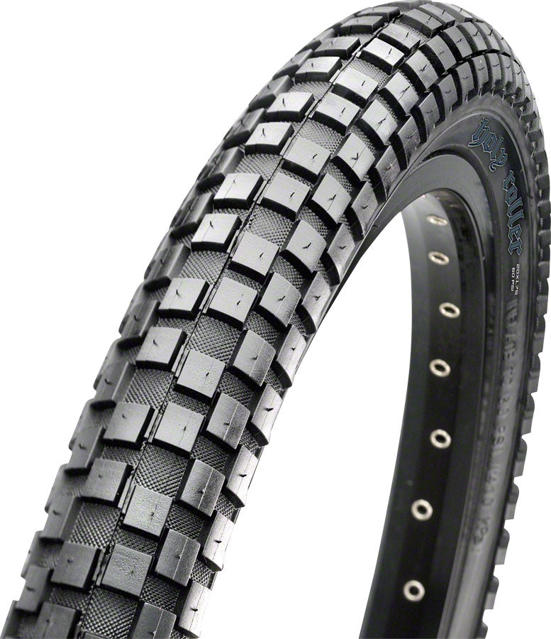 Maxxis Holy Roller Tire - 26 x 2.2, Clincher, Wire, Black, Single MPN: TB72392000 Tires Holy Roller Tire
