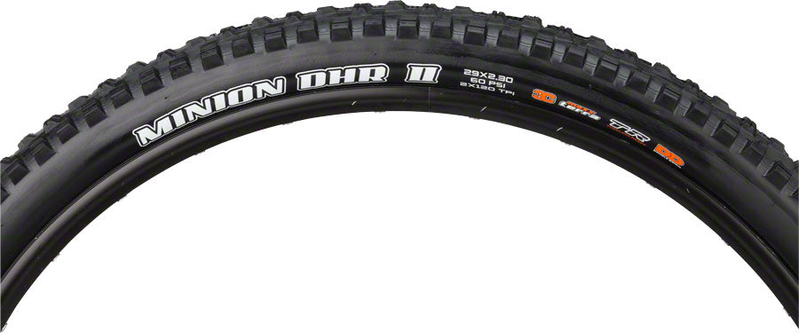 Maxxis Minion DHR II Tire - 29 x 2.3, Tubeless, Folding, Black, 3C Maxx Terra, DD