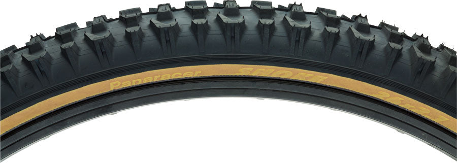 Panaracer Smoke Tire - 26 x 2.1, Clincher, Folding, Black/Tan, 60tpi