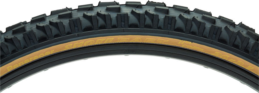 Panaracer Dart Tire - 26 x 2.1, Clincher, Folding, Black/Tan, 60tpi