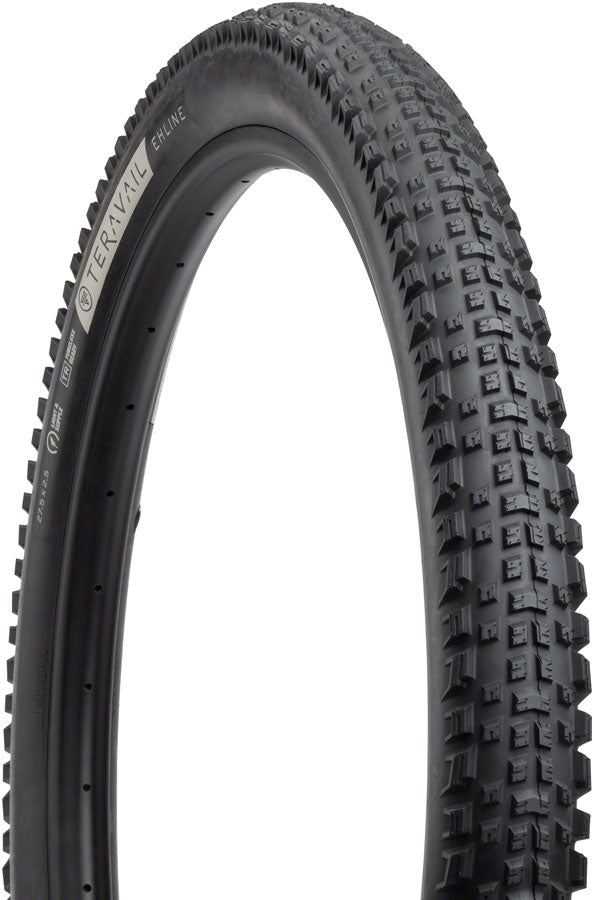 Teravail Ehline Tire - 27.5 x 2.5, Tubeless, Folding, Black, Durable