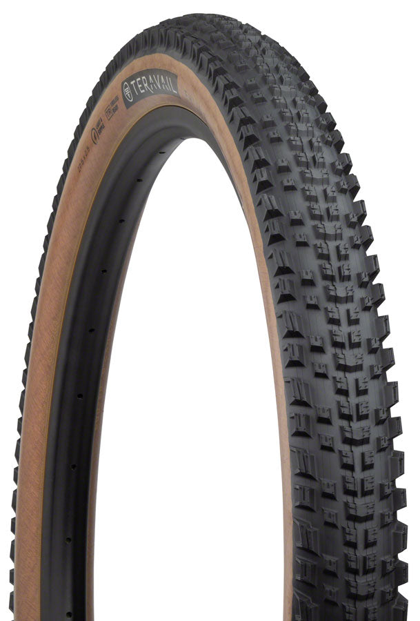 Teravail Ehline Tire - 27.5 x 2.5, Tubeless, Folding, Tan, Light and Supple