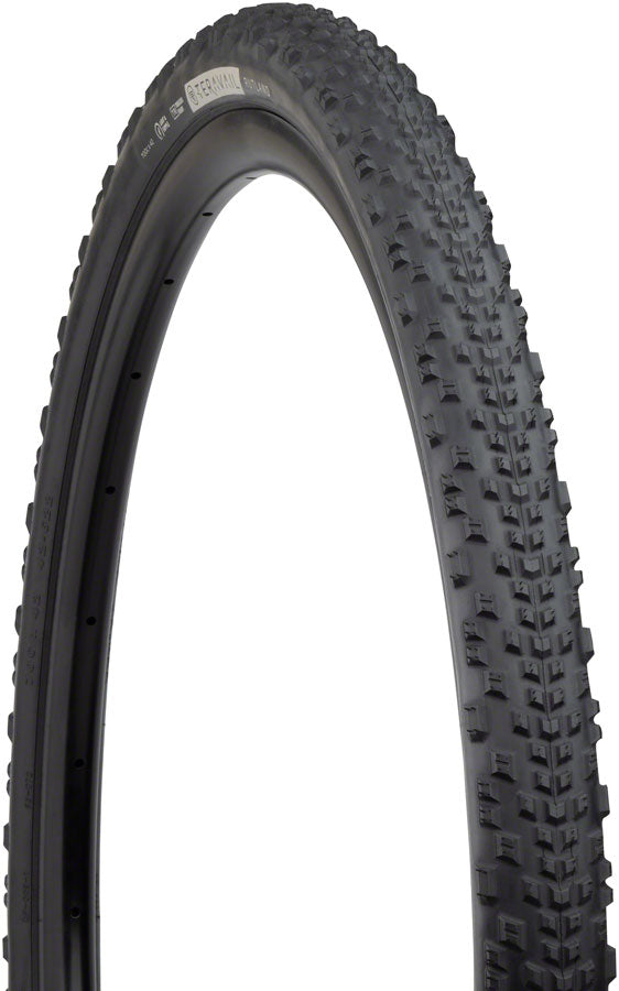 Teravail Rutland Tire - 700 x 42, Tubeless, Folding, Black, Durable