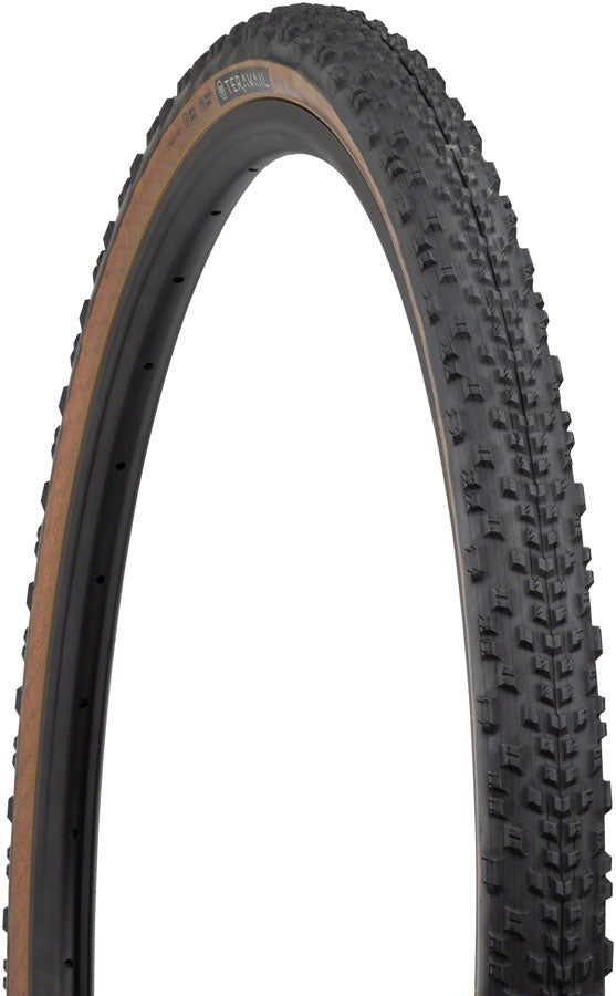 Teravail Rutland Tire - 700 x 42, Tubeless, Folding, Tan, Light and Supple