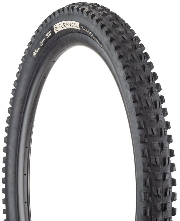 Teravail Kessel Tire - 29 x 2.6, Tubeless, Folding, Black, Ultra Durable MPN: 19-000110 UPC: 708752329041 Tires Kessel Tire