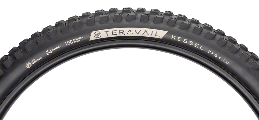 Teravail Kessel Tire - 27.5 x 2.5, Tubeless, Folding, Black, Ultra Durable MPN: 19-000181 UPC: 708752329126 Tires Kessel Tire