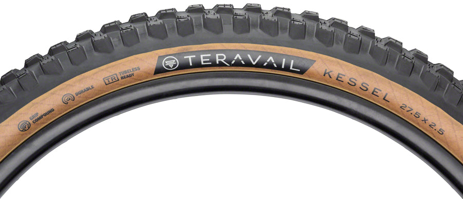 Teravail Kessel Tire - 27.5 x 2.5, Tubeless, Folding, Tan, Durable MPN: 19-000181 UPC: 708752329102 Tires Kessel Tire