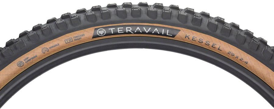 Teravail Kessel Tire - 29 x 2.4, Tubeless, Folding, Tan, Durable MPN: 19-000182 UPC: 708752329188 Tires Kessel Tire