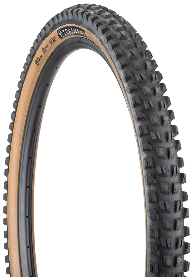 Teravail Kessel Tire - 29 x 2.4, Tubeless, Folding, Tan, Durable