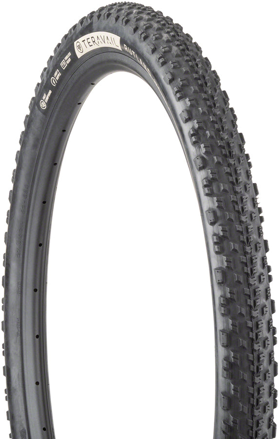 Teravail Rutland Tire - 27.5 x 2.1, Tubeless, Folding, Black, Light and Supple