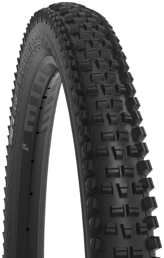 WTB Trail Boss Tire - 27.5 x 2.6, TCS Tubeless, Folding, Black, Tough, Fast Rolling