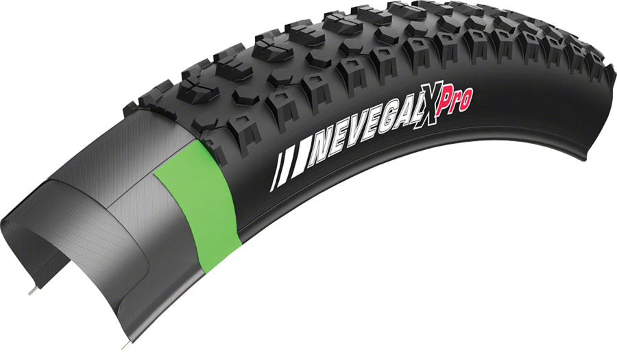 Kenda Nevegal X Pro Tire - 26 x 2.1, Tubeless, Folding, Black