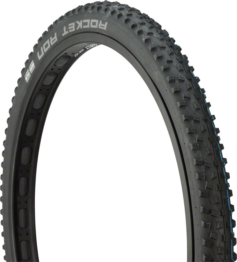 Schwalbe Rocket Ron Tire - 29 x 2.25, Tubeless, Folding, Black, Evolution, Super Ground, Addix SpeedGrip