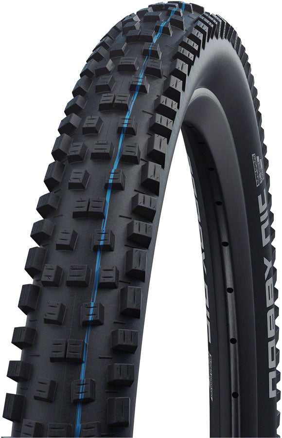 "Schwalbe Nobby Nic Tire - 27.5 x 2.6"", Tubeless, Folding, Black, Evolution Line, Addix SpeedGrip, Super Trail MPN: 11654114 Tires Nobby Nic Tire"