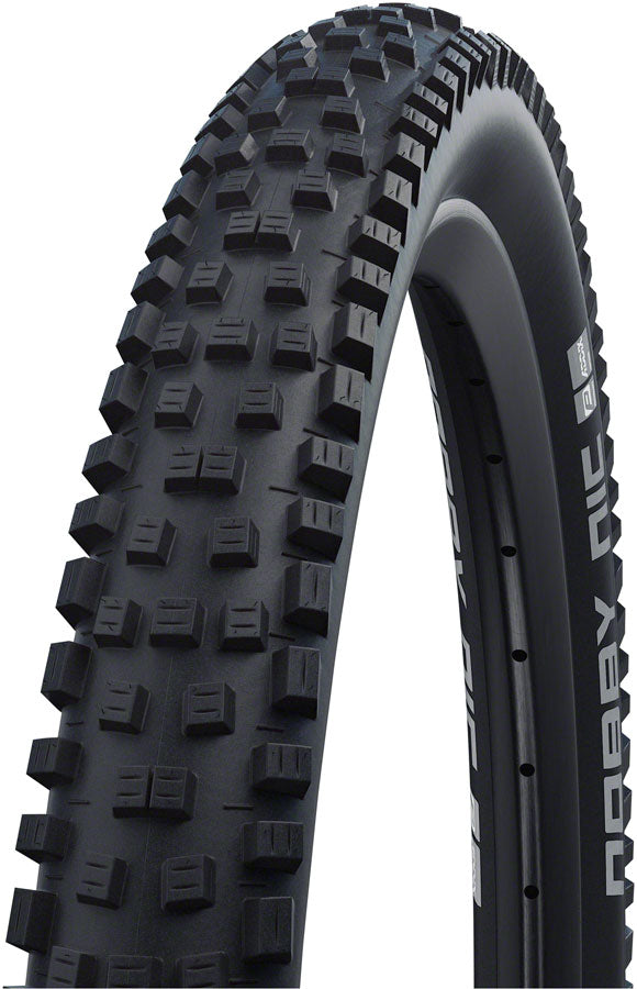 Schwalbe Nobby Nic Tire - 26 x 2.35, Tubeless, Folding, Black, Performance, RaceGuard, Addix, Double Defense