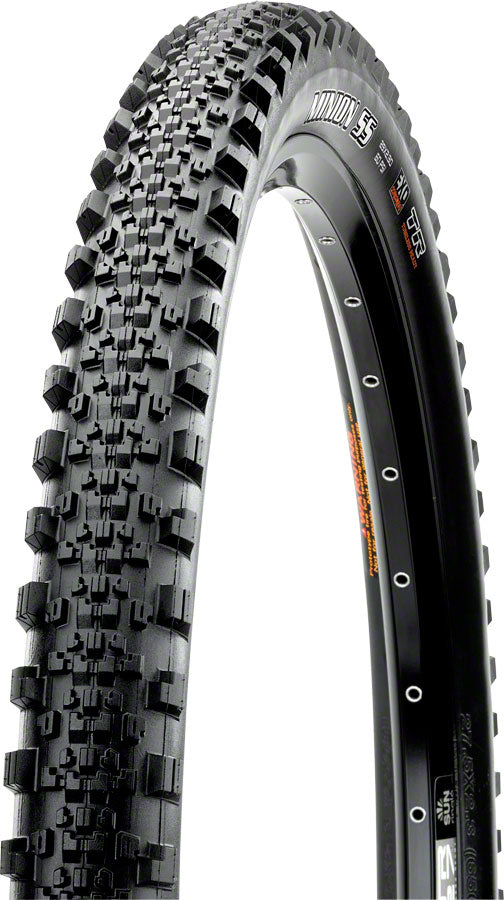 Maxxis Minion SS Tire - 29 x 2.3, Tubeless, Folding, Black, Dual, EXO MPN: TB96778000 Tires Minion SS Tire