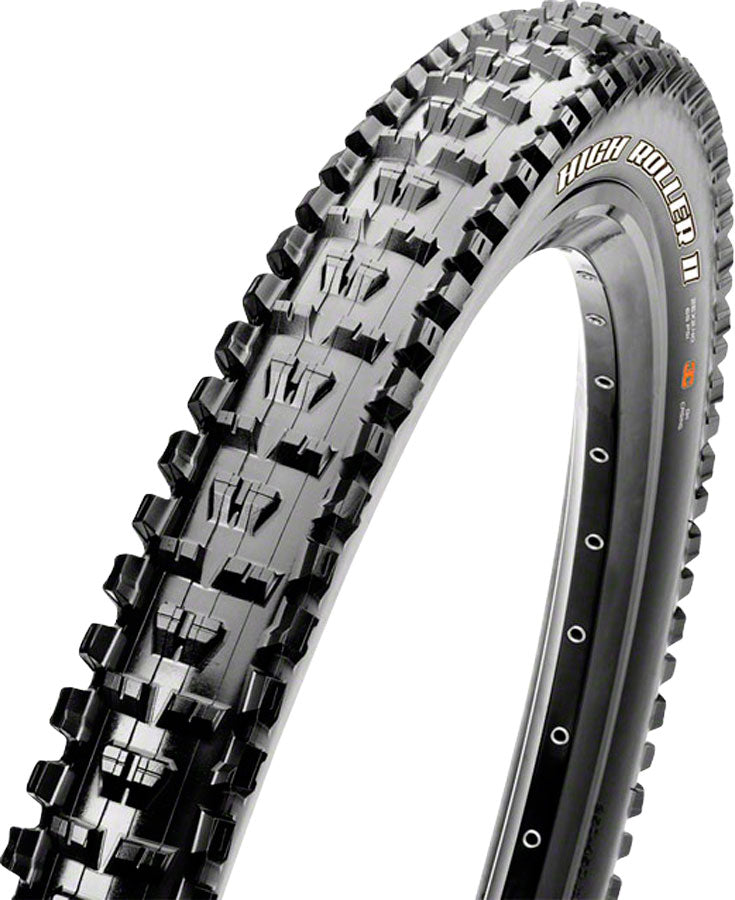 Maxxis High Roller II Tire - 29 x 2.3, Tubeless, Folding, Black, Dual, EXO MPN: TB96769000 Tires High Roller II Tire