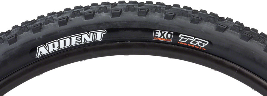Maxxis Ardent Tire - 26 x 2.4, Tubeless, Folding, Black, Dual, EXO MPN: TB72917100 Tires Ardent Tire