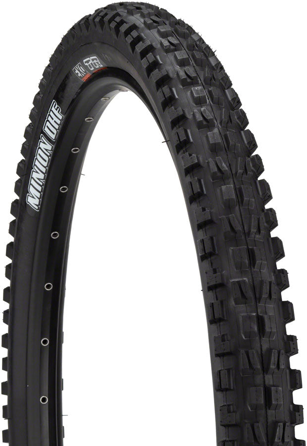 Maxxis Minion DHF 27.5 x 2.5 Wide Trail (WT) 60tpi Dual Compound EXO Protection Tubeless Ready