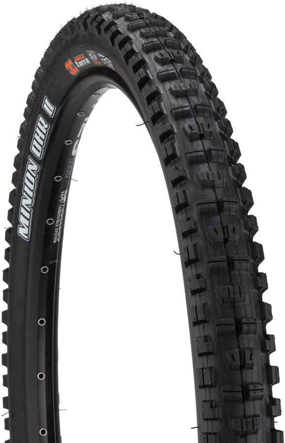 Maxxis Minion DHR II Tire - 27.5 x 2.4, Tubeless, Folding, Black, 3C Maxx Grip, DH, Wide Trail