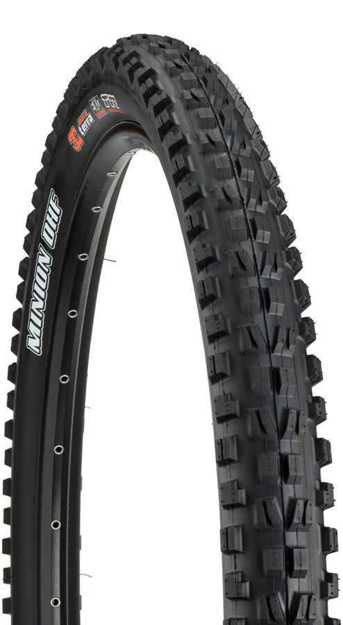 Maxxis Minion DHF Tire 29 x 2.30, Folding, 60tpi, Dual Compound, EXO, Tubeless Ready, Black MPN: TB96785000 Tire Minion DHF Tire
