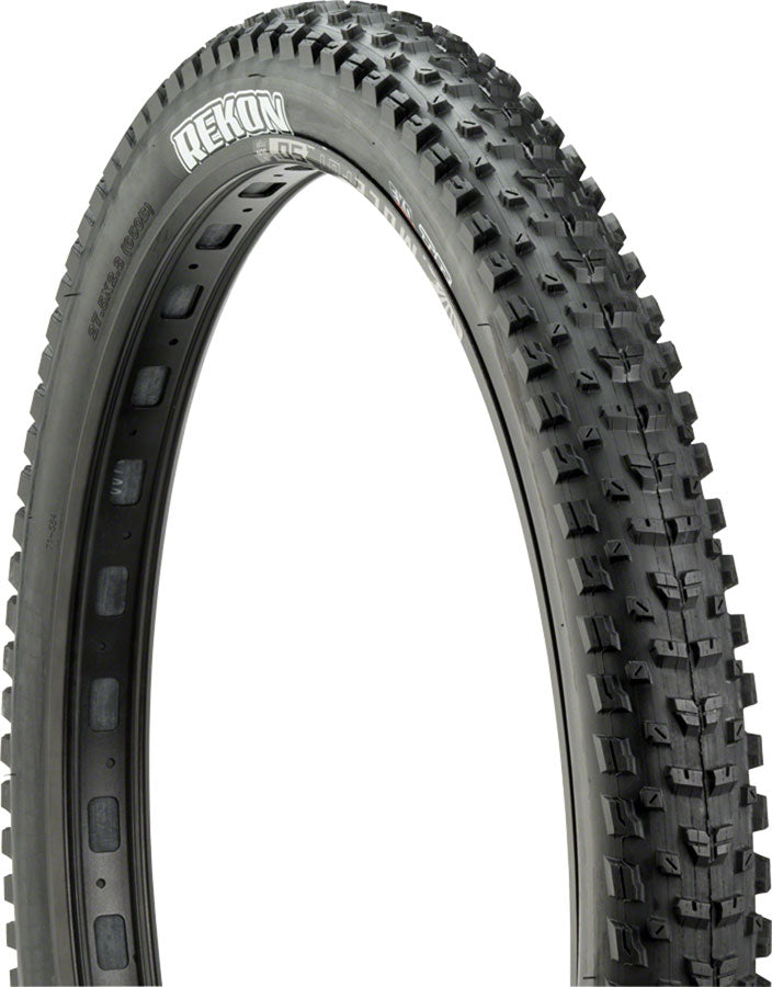 Maxxis Rekon Tire - 29 x 2.6, Tubeless, Folding, Black, Dual, EXO MPN: TB96962100 UPC: 4717784033082 Tires Rekon Tire