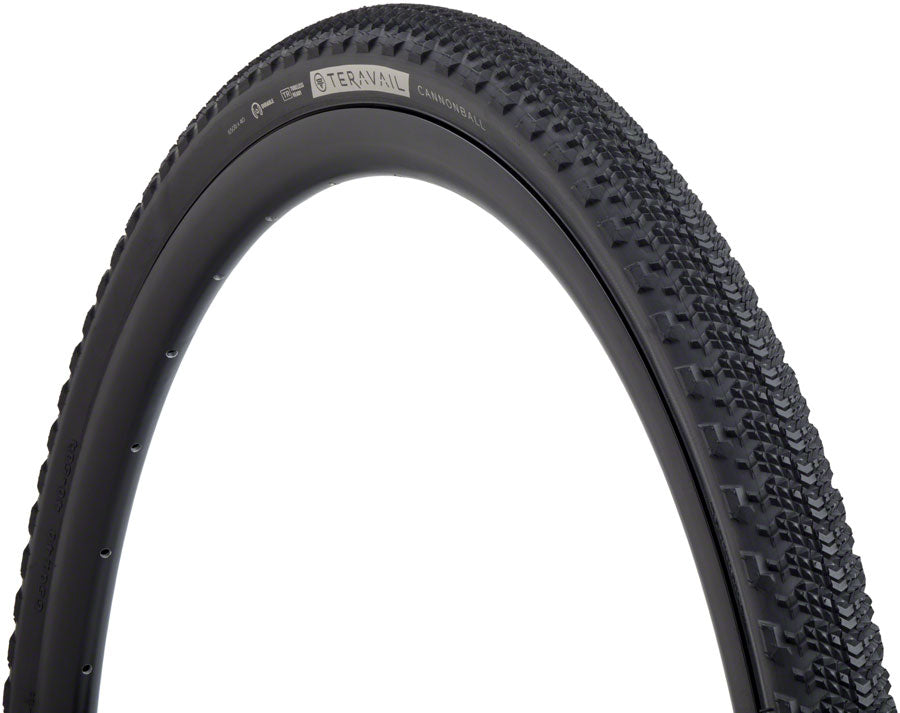 Teravail Cannonball Tire - 650b x 40, Tubeless, Folding, Black, Durable