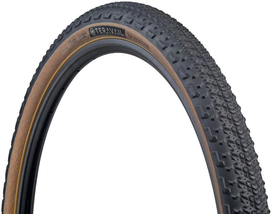 Teravail Sparwood Tire - 29 x 2.2, Tubeless, Folding, Tan, Light and Supple