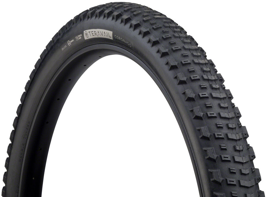 Teravail Coronado Tire - 29 x 2.8, Tubeless, Folding, Black, Light and Supple